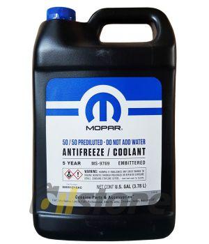 Антифриз готовый к прим. MOPAR 50/50 Prediluted antifreeze/coolant 5-year, 3.78л