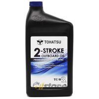 Моторное масло Tohatsu 2-Stroke Outboard Oil TC-W3, 0.946л
