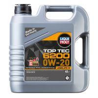 Моторное масло LIQUI MOLY НС Top Tec 6200 0W-20, 4л