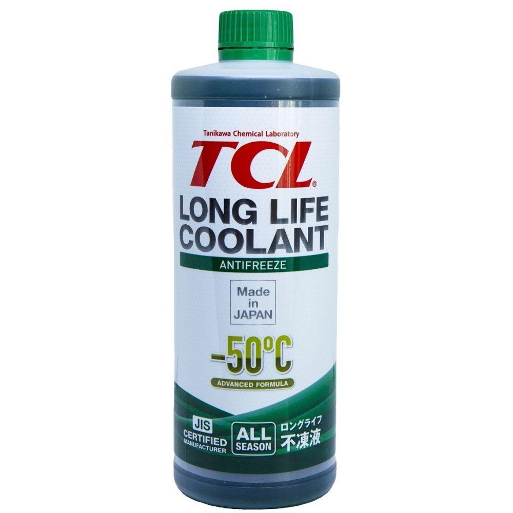 Антифриз TCL Long Life Coolant GREEN -50°C, 1л