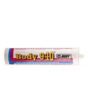 Герметик для стекла BODY 940, 300мл /Черный/