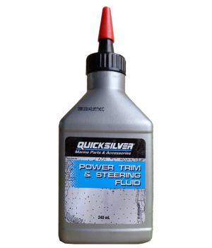 Гидравлическая жидкость Quicksilver Power Trim & Steering Fluid, 0.24л