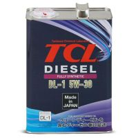 Моторное масло TCL Diesel Fully Synth DL-1, 5W-30, 4л