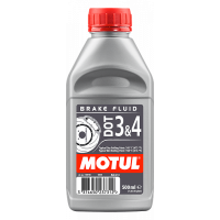 Тормозная жидкость MOTUL DOT 3&4 Brake Fluid, 0,5 л.
