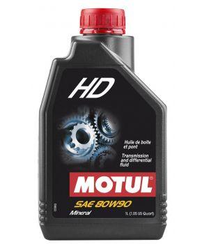 Трансмиссионное масло MOTUL HD 80W-90, 1л