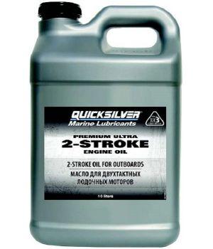 Моторное масло Quicksilver Premium Ultra 2-Cycle TC-W3, 10л