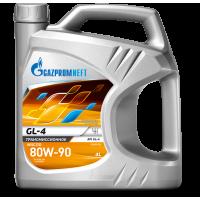 Трансмиссионное масло Gazpromneft GL-4 80W-90, 4л