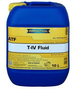 Трансмиссионное масло RAVENOL ATF T-IV Fluid (10л) new