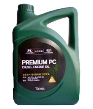 Моторное масло HYUNDAI Premium PC Diesel Engine Oil SAE10W-30 CH-4 (6л)
