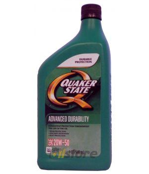 Моторное масло QUAKER STATE Advanced Durability SAE 20W-50 (0,946л)