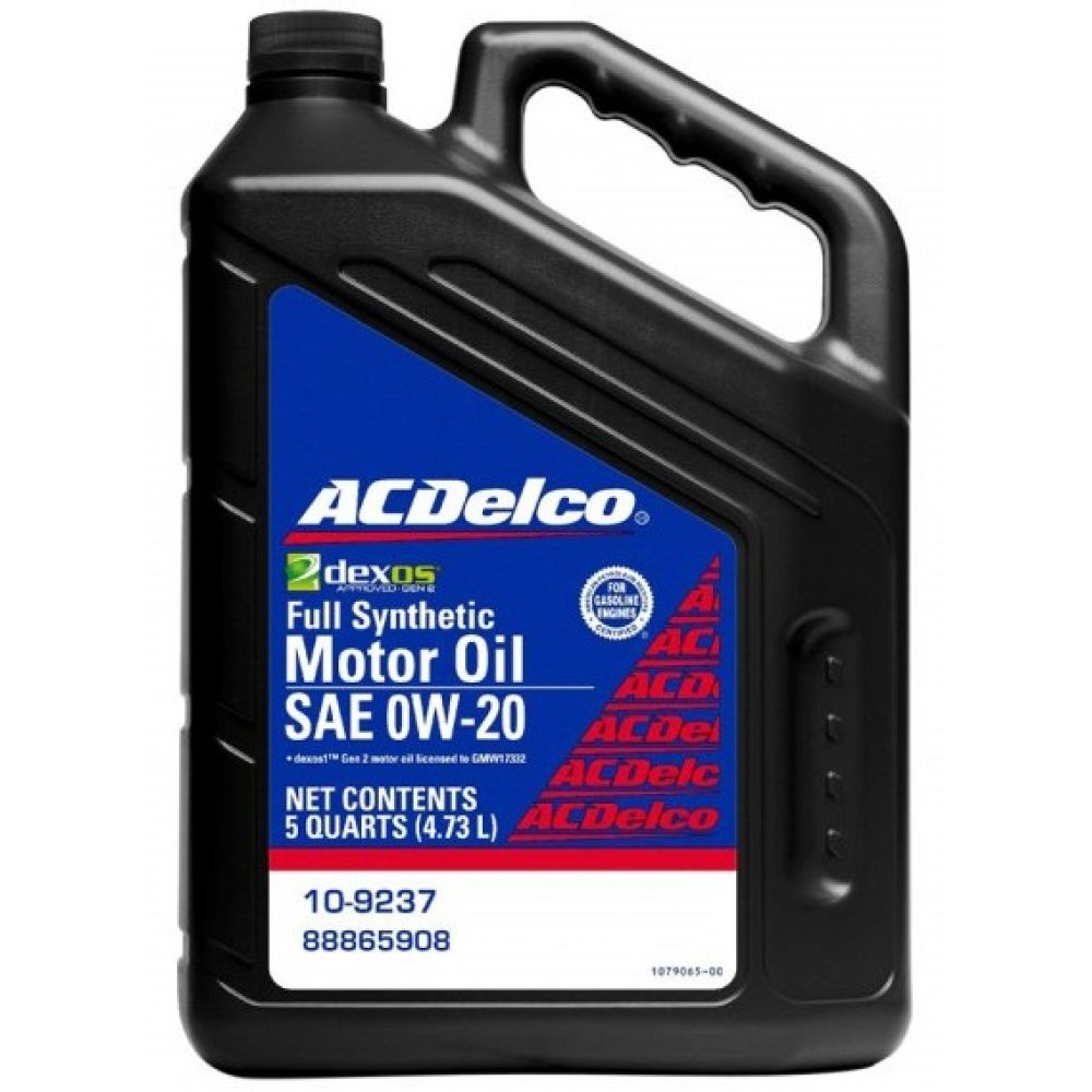 Моторное масло AC DELCO Full Synthetic 0W-20, 4.73л