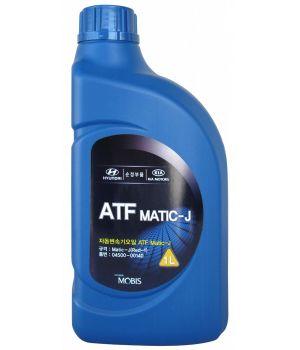 Трансмиссионное масло Hyundai/Kia ATF MATIC-J RED-1, 1л