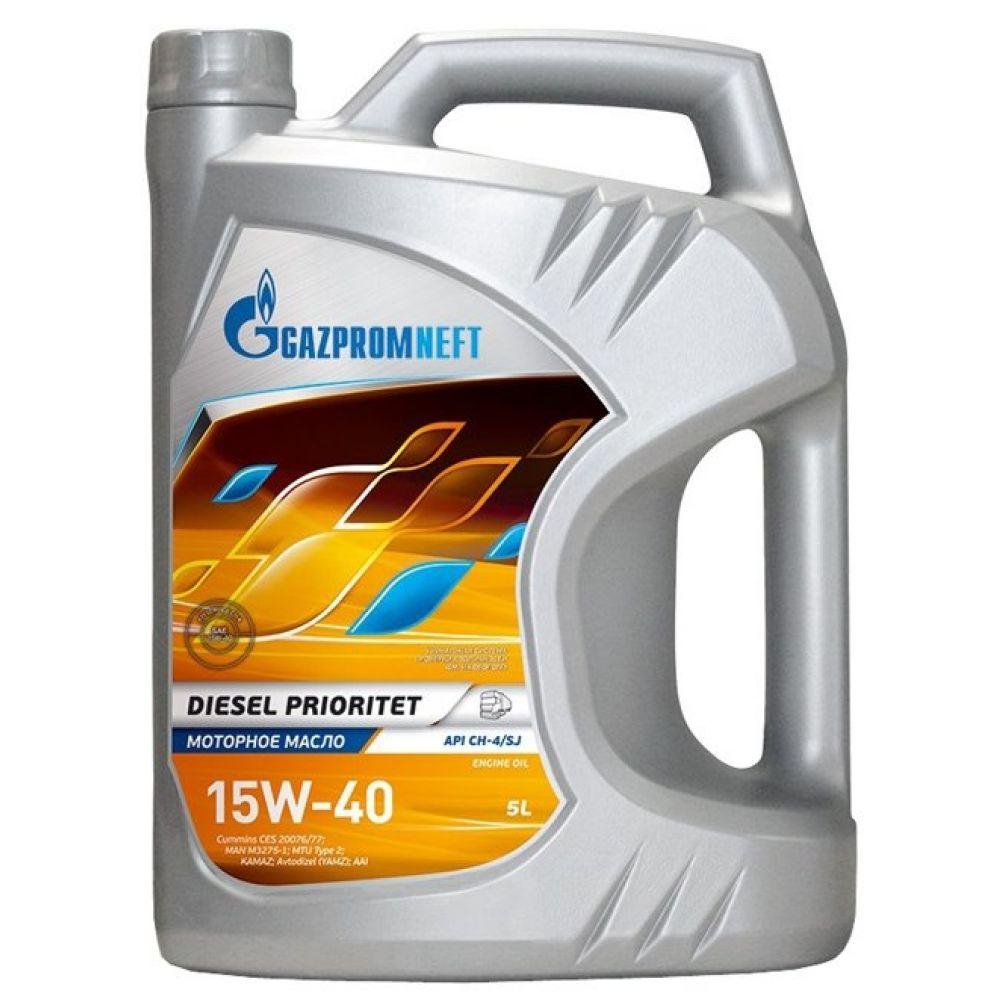 Моторное масло Gazpromneft Diesel Prioritet 15W-40, 5л