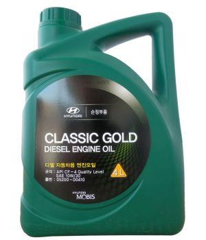 Моторное масло Hyundai/Kia Classic Gold Diesel Engine Oil 10W-30 CF-4, 4л
