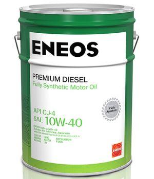 Моторное масло ENEOS Premium Diesel CJ-4 10W-40, 20л