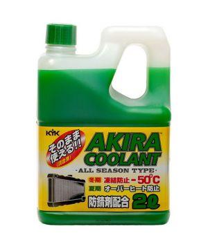Антифриз AKIRA Coolant -50°C зеленый, 2л