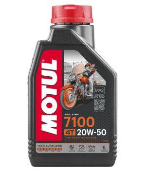 Моторное масло MOTUL 7100 4T 20W-50, 1л