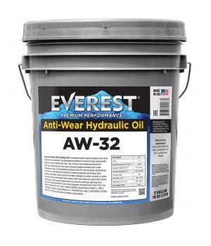 Гидравлическое масло Everest AW32 4000H 19л