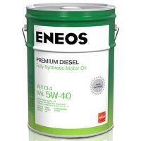 Моторное масло Eneos Premium Diesel 5W-40, 20л