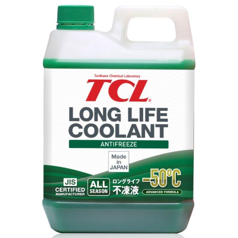 Антифриз TCL Long Life Coolant GREEN -50°C, 2л