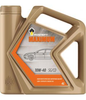 Моторное масло Rosneft Maximum 10W-40 (РНПК), 4л