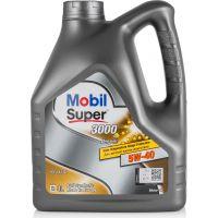 Моторное масло Mobil Super 3000 X1 Diesel 5W-40, 4л