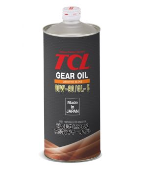 Трансмиссионное масло TCL Gear 80W-90 Synth Blend LSD GL-5, 1л
