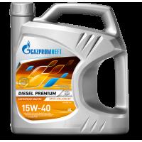 Моторное масло Gazpromneft Diesel Premium 15W-40, 4л