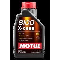 Моторное масло Motul 8100 X-cess 5W-30, 1л