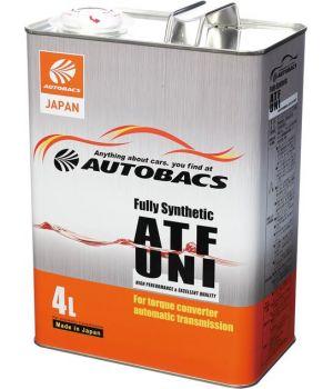Трансмиссионное масло AUTOBACS ATF UNI Fully Synthetic, 4л