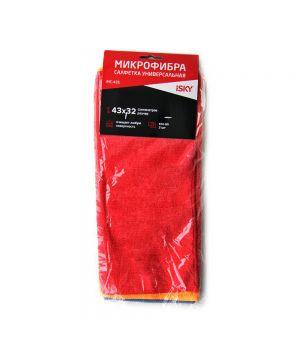 Набор салфеток для ухода за автомобилем iSky, 43х32 см, 3 шт