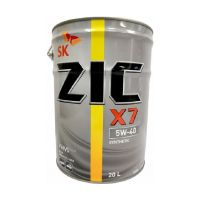 Моторное масло ZIC X7 5W-40, 20л.