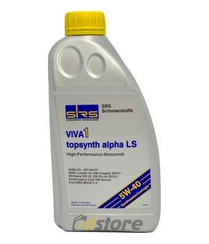 Моторное масло SRS VIVA 1 topsynth alpha LS 5W-40, 1л