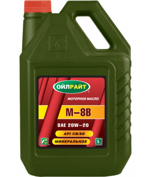 Моторное масло OILRIGHT М-8В, 5л