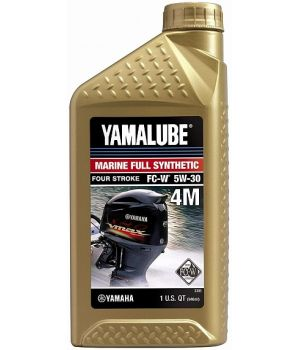 Моторное масло YAMAHA Yamalube 4M 5W-30 Marine, 0,946 л.