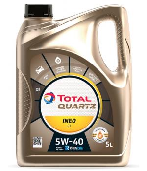 Моторное масло Total QUARTZ INEO С3 5W-40, 5л