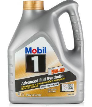 Моторное масло Mobil 1 FS X1 5W-40, 4л