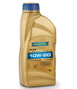 Моторное масло RAVENOL HVS High Viscosity Synto Oil SAE10W-60 ( 1л) new