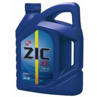 Моторное масло ZIC X5 10W-40 Diesel, 6 л.