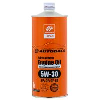 Моторное масло AUTOBACS Fully Synthetic 5W-30 SP/CF/GF-6A, 1л