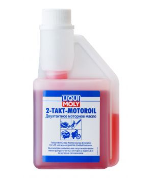 Моторное масло для 2-тактных двигателей LIQUI MOLY 2-Takt-Motoroil, 0,25л