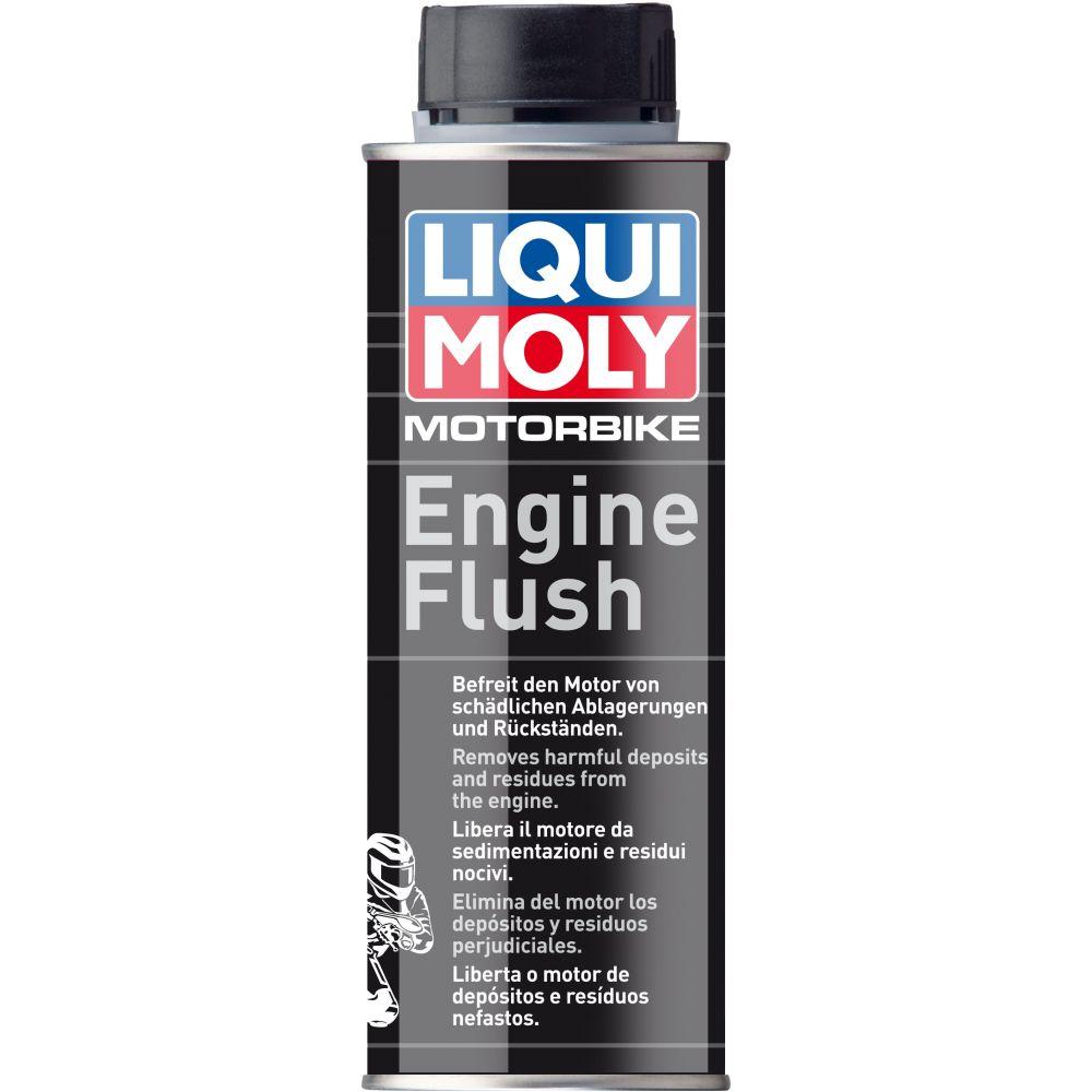 Промывка масляной системы мототехники LIQUI MOLY Motorbike Engine Flush, 0,25л