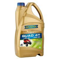 Масло для квадроциклов RAVENOL QUAD 4T SAE 10W-40 (4л)