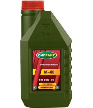 Моторное масло OILRIGHT М-8В, 1л