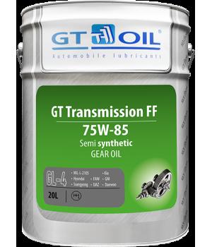 Трансмиссионное масло GT OIL GT Transmission FF SAE 75W-85 GL-4, 20л