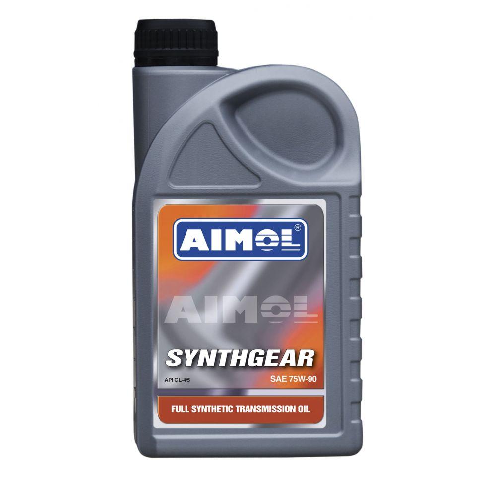 Трансмиссионное масло AIMOL Synthgear 75W-90, 1л