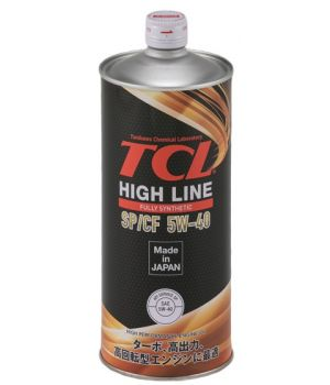 Моторное масло TCL HIGH LINE 5W-40 SP/CF, 1л