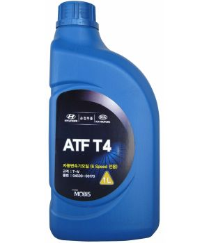 Трансмиссионное масло Hyundai/Kia ATF T4, 1л