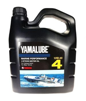Моторное масло Yamaha YAMALUBE 4 10W-40 Marine Performance Oil, 4л