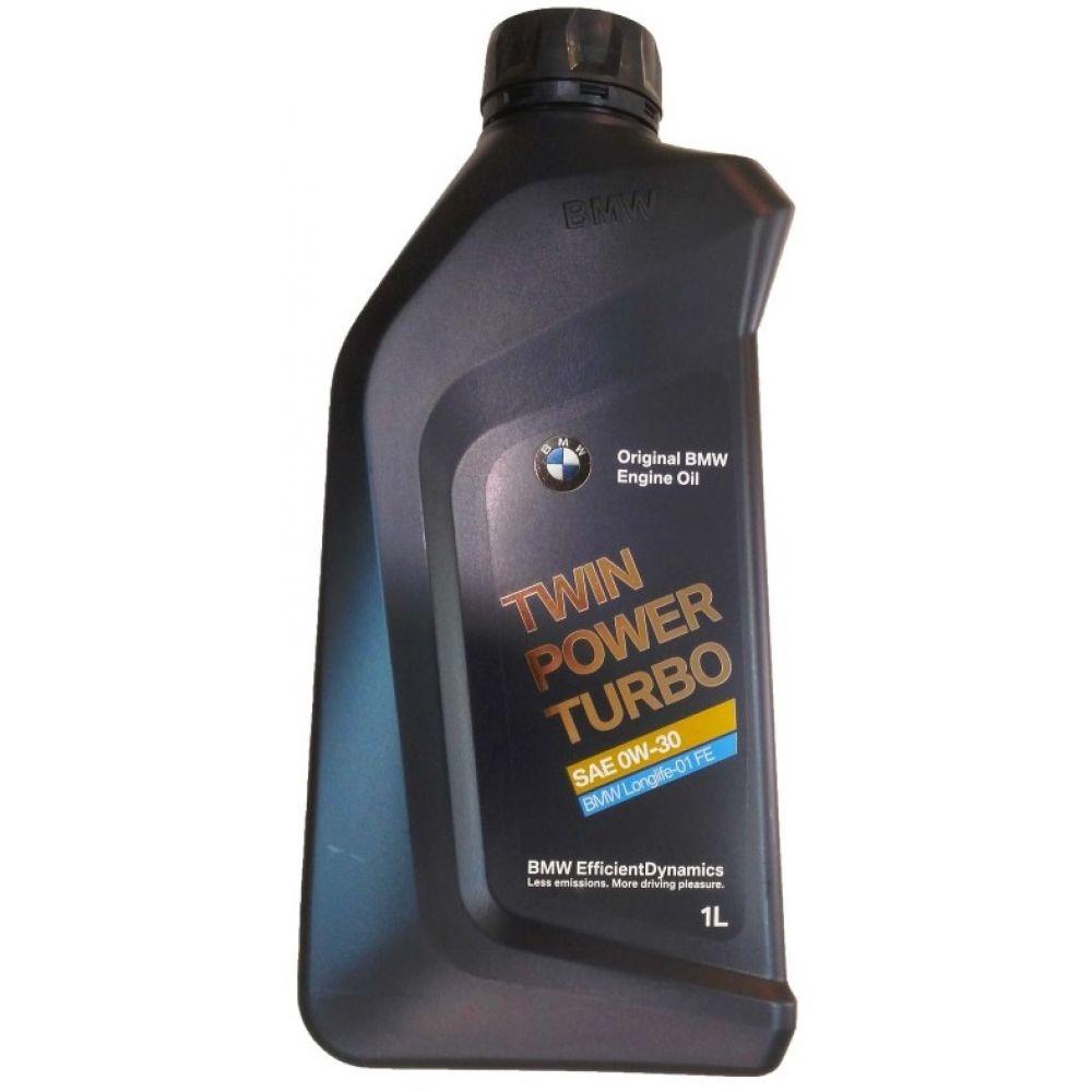 Моторное масло BMW TwinPower Turbo Longlife-01 FE 0W-30, 1л